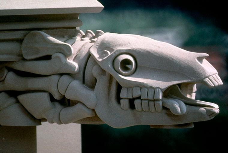 Horse Skeleton Gargoyle